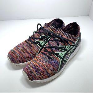 ASICS Gel Kayano Knit Running Shoes EUC Men 9.5